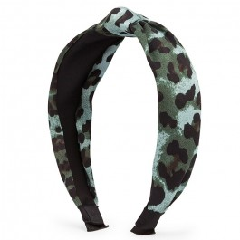 Hipanema green leopard headband