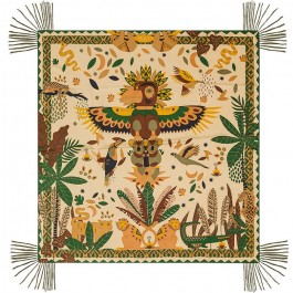 Paco beige pareo (sarong) or scarf