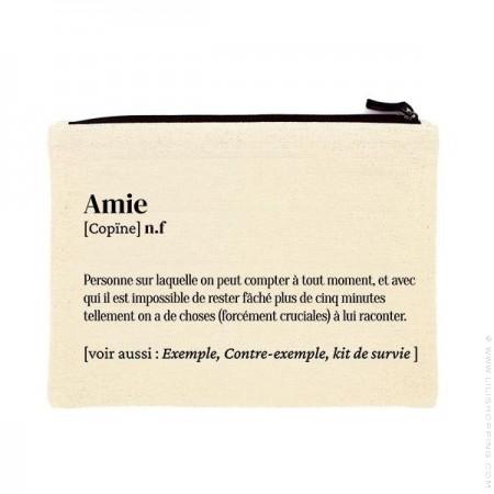 Pochette Amie