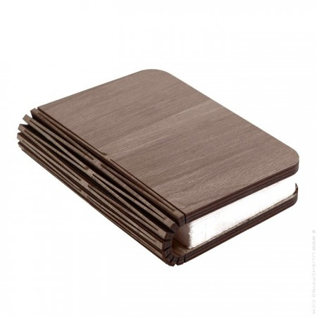 Maple wood book lamp - small size