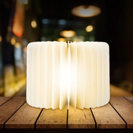 Livre lumineux LED érable - grand modèle