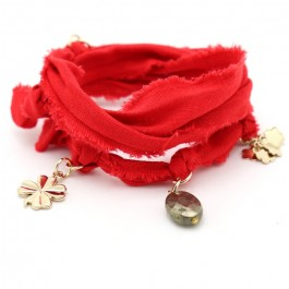 Bracelet doudou rouge