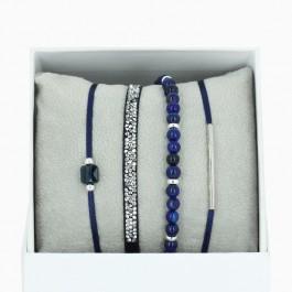 Bracelets La Re-Belle marine