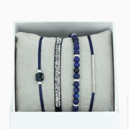 La Re Belle navy blue bracelets
