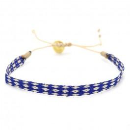 Argentinas 120 navy blue and ivory bracelet