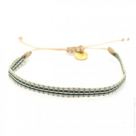 Argentinas khaki black bracelet