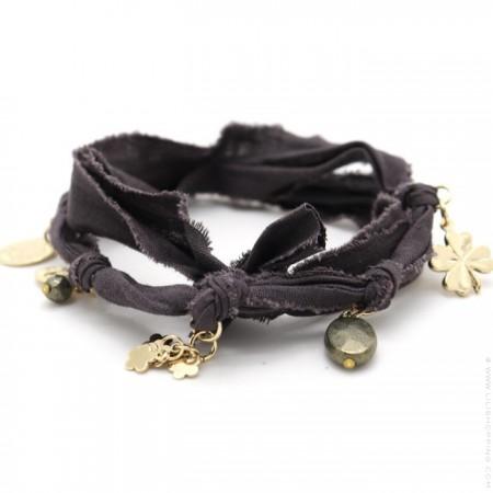 Dark grey Doudou Bracelet