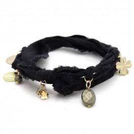 Bracelet doudou noir