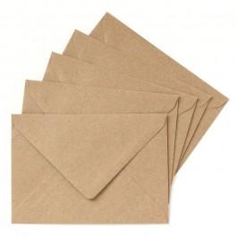Kraft envelope for Cinq Mai postcard