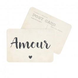 Amour vintage paper Cinq Mai postcard