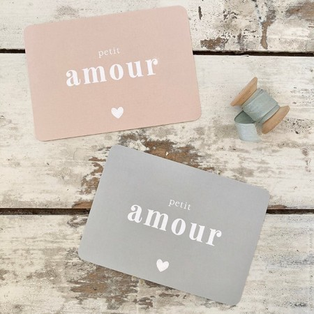 Petit Amour Cinq Mai postcard