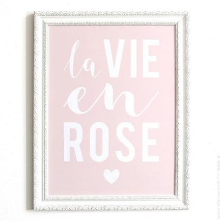 La vie en rose Cinq Mai poster