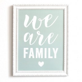 We are Family smoke green Cinq Mai poster
