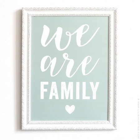 We are Family  Cinq Mai poster