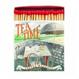 Tea Time Luxury matchbox