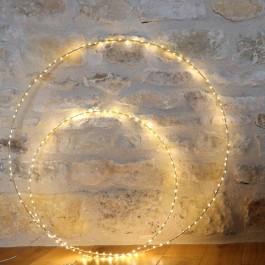 Bazar de Luxe led light circle 50 cm
