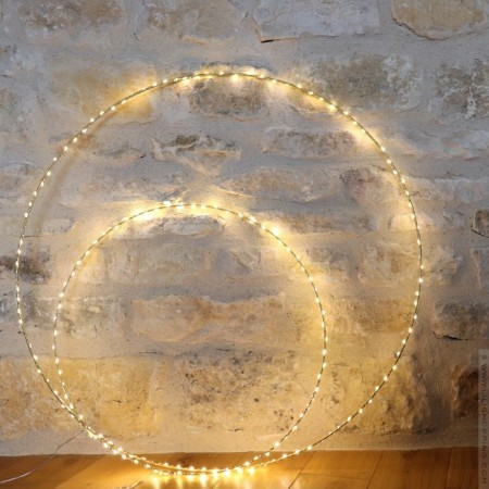 Bazar de Luxe led light circle 50 cm