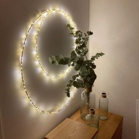 Cercle lumineux Bazar de Luxe 75 cm