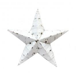 56 cm white Amish Star