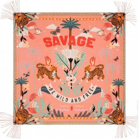 Foulard Hipanema Savage pink