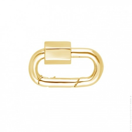 Hipanema gold plated minipure clasp