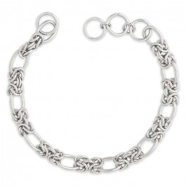 Lien Hipanema Clare link silver 1