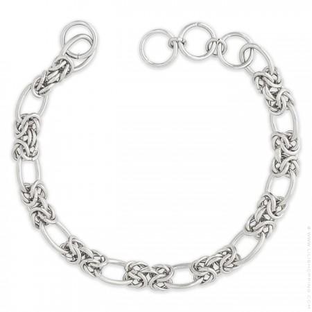 Lien Hipanema Clare link silver