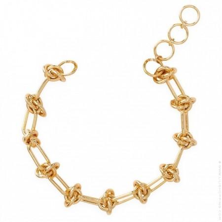 Hipanema Clare link gold 3