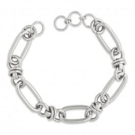 Lien Hipanema Clare link silver 5