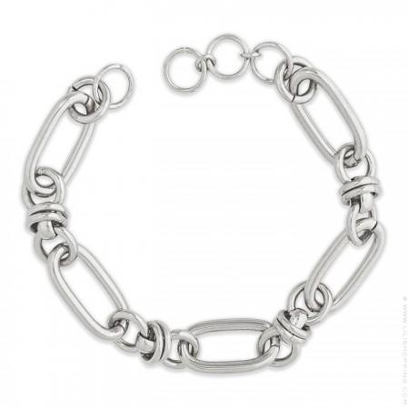 Hipanema Clare link silver 1