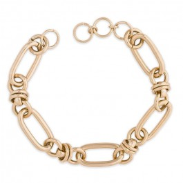 Hipanema Clare link gold 5