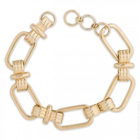 Hipanema Clare link gold 1