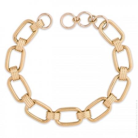Hipanema Clare link gold 7