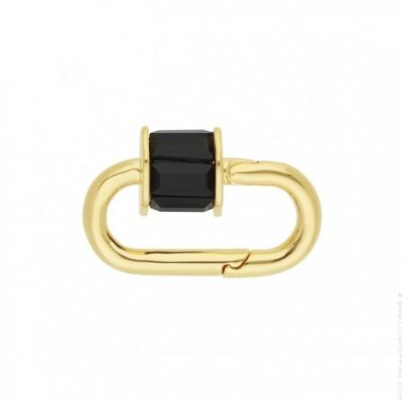 Hipanema black Minicube clasp
