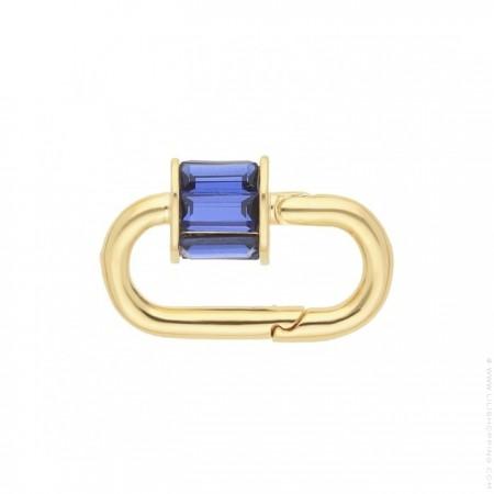Fermoir Hipanema Minicube blue