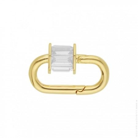 Fermoir Hipanema Minicube white