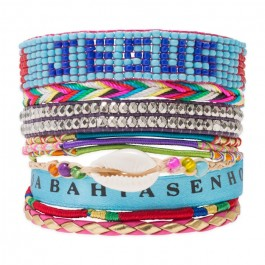 Bracelet manchette Hipanema version 4