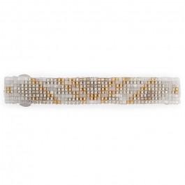 Hipanema white hair clip
