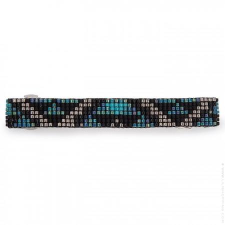 Hipanema black hair clip