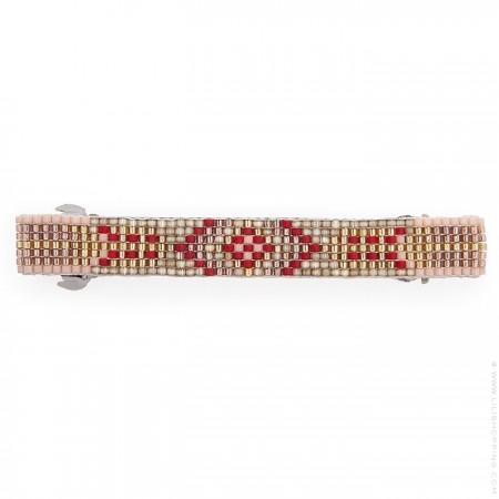 Hipanema pink hair clip