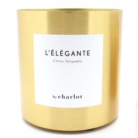 Scented candle by Charlot L'élégante 3 wicks