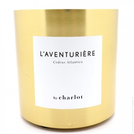 Scented candle by Charlot L'aventurière 3 wicks