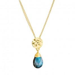 Kate labradorite gold platted necklace
