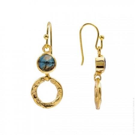 Larissa boho hoops earrings