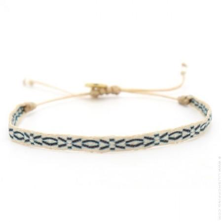 Argentinas blue brown bracelet