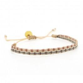 Bracelet Argentinas camel et jean vintage