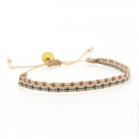 Argentinas camel et jean vintage bracelet