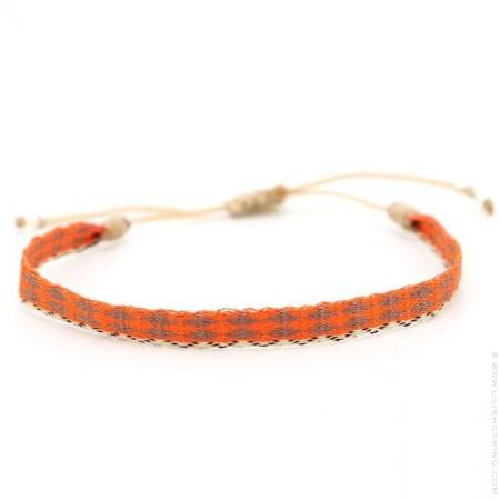 Argentinas moka and orange bracelet