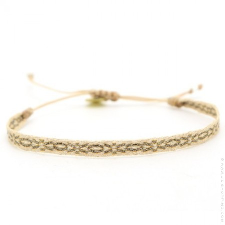 Argentinas grey and gold bracelet