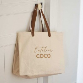 Bel Ami bag L'atelier Coco gold glitter
